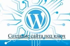 Сайт на WordPress - под ключ 23 - kwork.ru