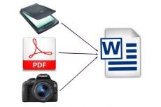 Переведу Ваши файлы PDF в формат Word 12 - kwork.ru