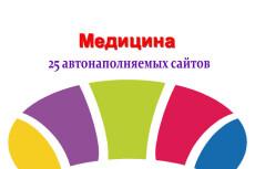 Продам авто наполняемый сайт по медицине 6 - kwork.ru