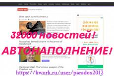 Сайт для велосипедистов + 200 новостей 21 - kwork.ru