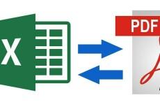 Выполню работу в Excel 7 - kwork.ru