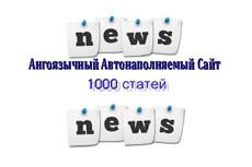 Продам автонаполняемый новостной сайт 21 12 - kwork.ru