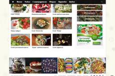 Самонаполняемый сайт кулинарных рецептов 8 - kwork.ru